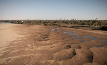 Decretan la emergencia hídrica en el Río Paraná   Paraná