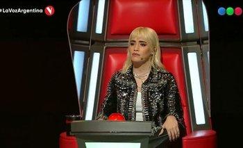 Lali Espósito se quebró de emoción en La Voz Argentina | La voz argentina