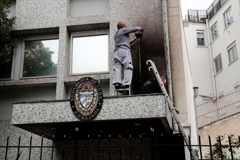 Embajada de Cuba en París denuncia ataque con bombas molotov | Atentado