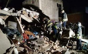 Derrumbe en Lomas de Zamora: murieron dos mujeres  | Derrumbe