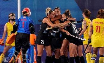 Las Leonas le ganaron a China y avanzaron en Tokio 2020   Juegos olímpicos