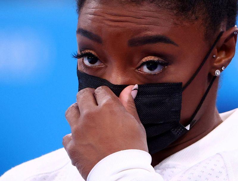 La franqueza de Simone Biles ayuda a combatir el estigma alrededor de la salud mental | Juegos olímpicos