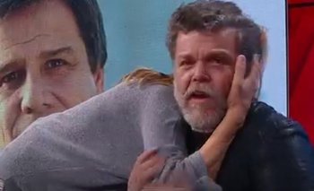 Se escrachó sola: Canosa no respetó los protocolos y abrazó a Alfredo Casero   Televisión