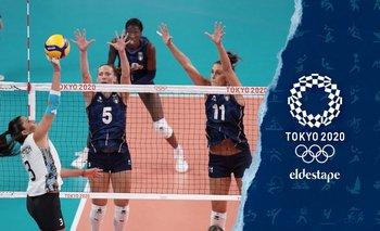 Juegos Olímpicos Tokio 2020: tercera derrota consecutiva de las Panteras | Tokio 2020