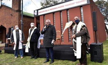 Julio Zamora acompañó la inauguración de un espacio de memoria en Tigre   Derechos humanos