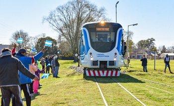 Tras 28 años sin tren, el Belgrano Sur volvió a Marcos Paz | Transporte