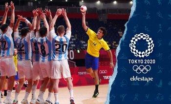 Dura derrota de Los Gladiadores cayeron frente a Brasil y quedaron afuera   Juegos olímpicos