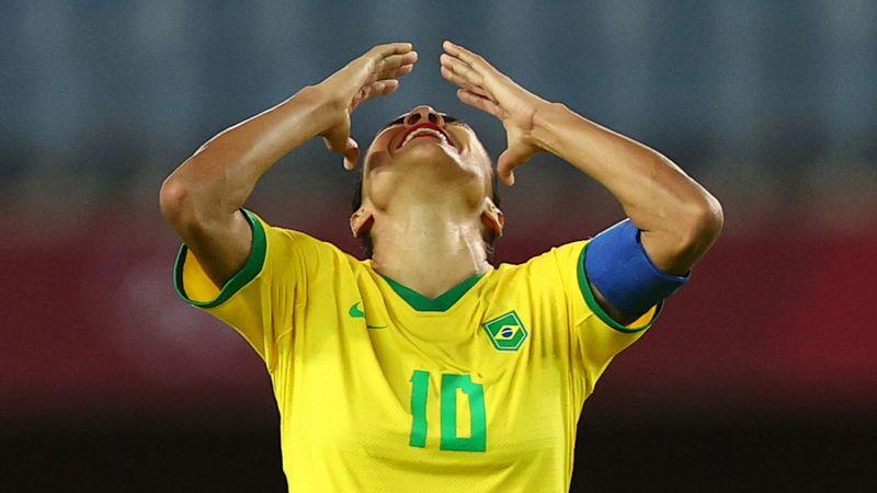 Sorpresa: Brasil afuera en Tokio tras caer por penales ante Canadá | Juegos olímpicos