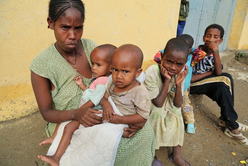 Desastre humanitario: más de 100.000 niños podrían morir de hambre en Etiopía   Onu