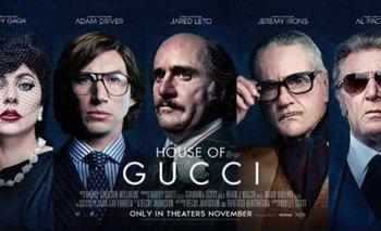 Furor por los posters y trailer de House of Gucci, con Lady Gaga | Cine
