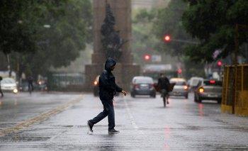 Emiten un alerta meteorológico por lluvias y tormentas fuertes   Paso