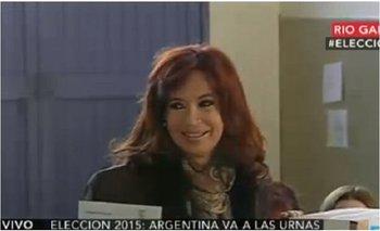 "Cristina Kirchner dijo que hubo ""campaña sucia"" y que ella no vota ""parientes sino y dirigentes"" | Cristina kirchner"