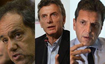 Scioli, Macri y Massa debatirán antes de las elecciones   Daniel scioli