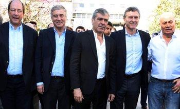 Sanz reapareció tras la derrota en las PASO   Ernesto sanz