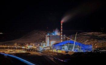 La central térmica de Río Turbio se sincronizó por primera vez a la red nacaional   Río turbio
