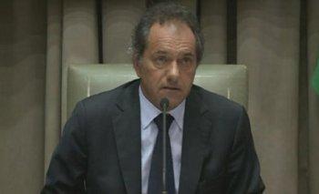 Scioli pidió que no haya utilización política del crimen del joven jujeño   Ariel velázquez