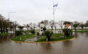 Las inundaciones en la Provincia, captadas por la NASA   Nasa