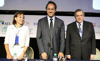 Scioli, Macri y Massa ante los empresarios del Council of the Americas | Daniel scioli