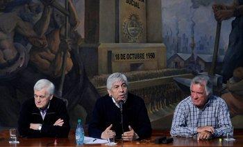 Con críticas al Gobierno, se unificarán las tres CGT | Cgt