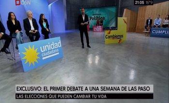 El único debate antes de las PASO se dio en Economía Política | Florencio randazzo