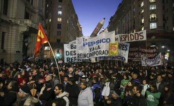 """La izquierda realizará una marcha a Plaza de Mayo """"independiente"""" de la CGT   Macri presidente"""