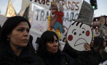 Trabajadores de Pepsico protestan en el Obelisco   Cgt