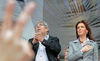 El encuentro más esperado de la política: Cristina y Hugo Moyano en una foto   Smata