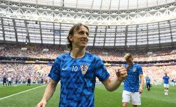 El mensaje de Modric a Macri | Mundial rusia 2018