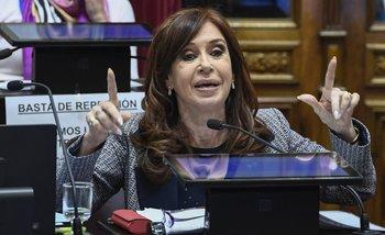 Con la resolución 678, el Gobierno aumenta la recompensa por atacar a Cristina   Cristina kirchner
