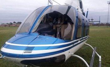 Aterrizaje de emergencia del helicóptero donde viajaba el gobernador de Chaco | Chaco