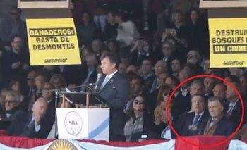 La insólita reacción de Dujovne cuando escracharon a Macri y Awada en La Rural | Nicolás dujovne