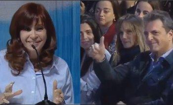 El mensaje de la Unidad: la frase de Cristina Kirchner a Sergio Massa | Cristina kirchner