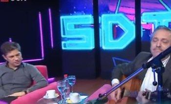 Alberto Fernández la rompió con la guitarra en TV    Elecciones 2019
