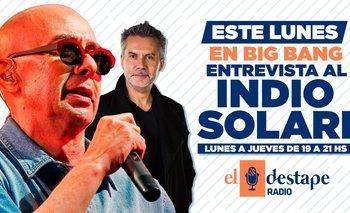 No te pierdas la entrevista exclusiva de El Destape Radio con el Indio | Entrevista exclusiva