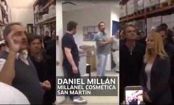 Kicillof visitó la empresa del hombre que advirtió los estragos que haría Macri | San martin