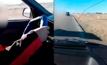 Indignación por un hombre que filmó a un nene de 10 años manejando en la ruta | Repudiable