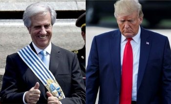 La respuesta de Tabaré Vázquez a una campaña de Donald Trump en contra de Uruguay   Delincuencia