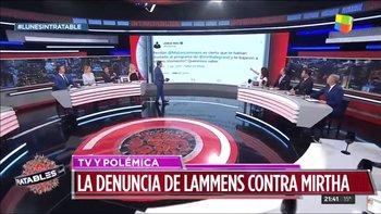 Silvia Mercado elogió a Alberto F. pero luego se cruzó con Ernestina Pais  | Intratables