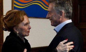 Tras agraviar a Néstor Kirchner, Pinky se reunió con Macri en la Casa Rosada | Mauricio macri