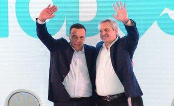 Más de 2500 personas acompañaron a Alberto Fernández y Osvaldo Cáffaro | Elecciones 2019