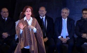 CFK le pidió al público que no cante en contra de Mauricio Macri | Elecciones 2019