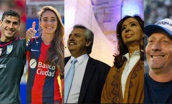 Más de 100 futbolistas firmaron una solicitada a favor de Alberto F. y CFK | Elecciones 2019