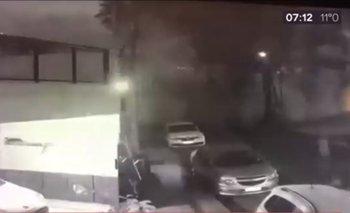 Impactante video: se derrumbó un edificio de ocho pisos en Tres de Febrero   Provincia