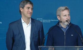 Frigerio evitó hablar de Smartmatic   Elecciones 2019
