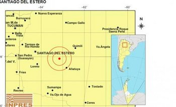 En plena elección hubo un sismo en Santiago del Estero | Elecciones 2019
