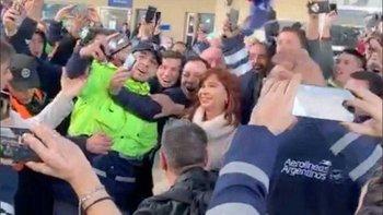 #24A: Editor de La Nación usó fotos de marcha K como si fueran a favor de Macri | Fake news