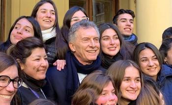 El desesperado pedido de Macri a unos estudiantes | Elecciones 2019