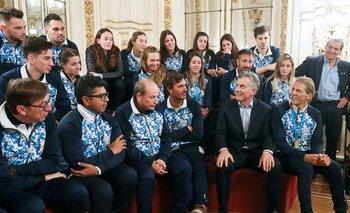 Las imperdibles caras de los deportistas argentinos con Macri | Elecciones 2019
