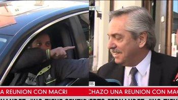 El imprevisto cruce de un trabajador con Alberto Fernández | Elecciones 2019