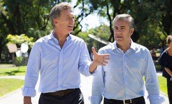 Cornejo le soltó la mano a Macri y se desligó de la crisis económica | Le soltó la mano